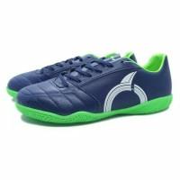 Sepatu Futsal Ortuseight Mirage IN Deep Blue White Green
