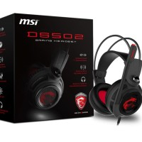 MSI DS502 Headset Profesional Gaming 7.1 Surround With Microphone
