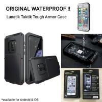 Iphone 7 8 PLUS LUNATIC TACTIC Tough Armor Case Cover Original Waterpr
