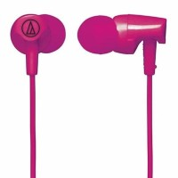BGR Audio Technica ATH CLR100 PK In Ear Headphone Pink