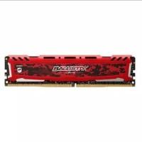 Ram Crucial Ballistix Sport LT DDR4 8GB (1X8GB) 2666Mhz - Red
