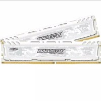 Ram Crucial Ballistix Sport LT DDR4 8GB (2x4GB) Kit 2666Mhz - White