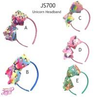 JS700 Bando Pita Jojo Siwa Unicorn Grade Ori - Bando Anak