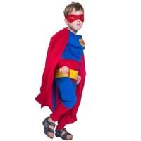 Baju Kostum Import Anak Superhero Superman