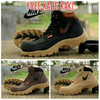 Sepatu Pria, Nike Boots California Safety Murah Promo