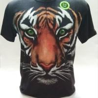 Kaos Baju Tshirt 3D Glow in the dark Macan Import GR002