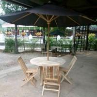 meja payung taman mentahan