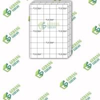Transfer Paper 3G Opaque DARK // SIZE A4 // min ORDER 10 LEMBAR
