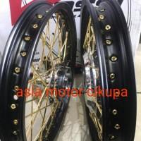 velg jari jari tromol paketan tromol ring 14 TDR motor scoopy Limited