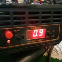 SUOER Charger 20A 12V & 24V Cas Aki Mobil Motor Accu Otomatis 20 Amper