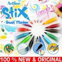 Spidol Artline ETX-F Stix Brush marker