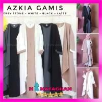 Gamis Jumbo Syari Busui Terbaru / Azka Dress Wanita Remaja Modern