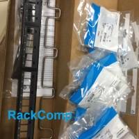 Amp /Commscope patch panel 24 port cat6 include modular cat 6 blue Ori