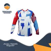 Baju Kaos Jersey Sepeda Gowes Lengan Panjang C072 ONEAL Downhill MTB