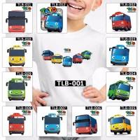 HOT ITEM Baju Kaos Dewasa Tayo The Little Bus 12 Design Motif