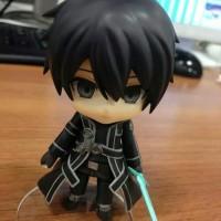 Action Figure Hot Toys Nendroid Kirito Anime Sword Art Online