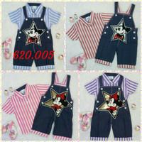 Baju Anak Bayi Baju Kodok Overall Anak Bayi Jeans