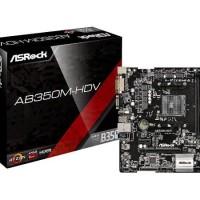 ASRock AB350M-HDV - AM4 - AMD Promontory B350 - DDR4 - USB3.0 - SATA3
