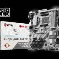 MSI B350 Tomahawk Arctic - AM4 - AMD Promontory B350 - DDR4 - USB3.1