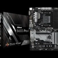 ASRock B450 Pro 4 - AM4 - AMD Promontory B450 - DDR4 - USB3.1 - SATA3
