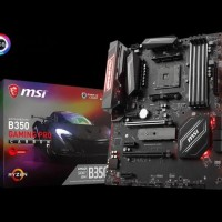 MSI B350 Gaming Pro Carbon - AM4 - AMD Promontory B350 - DDR4 - USB3.1