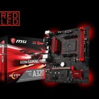 MSI A320M Gaming Pro - AM4 - AMD Promontory A320 - DDR4 - USB3.1 -