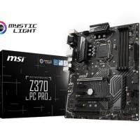 MSI Z370 PC PRO Intel Z370 LGA1151 DDR4 ATX Motherboard