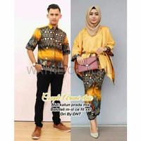 BATIK COUPLE SET COUPLE STN Arumi Ethnic Couple Sarimbit Batik Prada