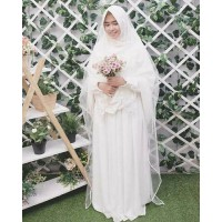 baju gamis wanita terbaru / Dress / Fashion Muslim / Set gamis akad