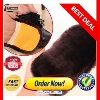 Sikat Semir Sepatu / Tas kulit / suede shoe polish - BAHAN WOOL