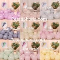 Balon Latex / Lateks Macaron Size 5 inch