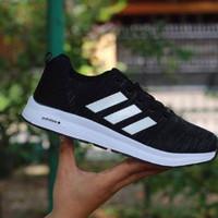 Adidas Climacool Import / Black White / Sepatu Pria Running Fitness