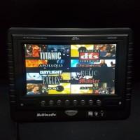 TV headrest/tanam Avix tipe AXM76HRC warna hitam