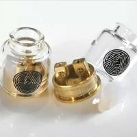 RDA ARTHA V1.5 CLONE CAP GLASS EDITION FOR ATOMIZER VAPORIZER VAPE