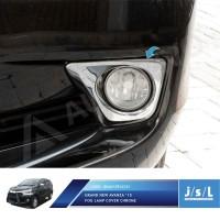 Grand All New Avanza Fog Lamp Cover Chrome/Aksesoris Avanza Xenia