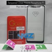 Tempered Glass Xiaomi 5D + Antigores Kamera Xiaomi Pocophone F1 Paket