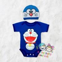 jumper bayi doraemon/ baju bayi doraemon/jumper bayi karakter
