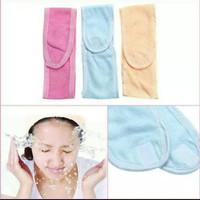 Bandana Bando Mandi Facial Headband Creambath Masker Wajah Skin care