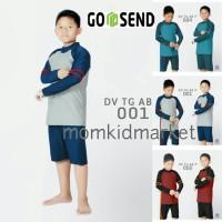 Baju Renang Anak SD Cowok Ukuran M, L dan XL DV-TG-021