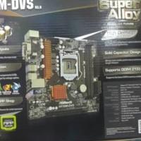 Terlaris - Motherboard ASRock H110M-DVS R3.0 - 7th Gen Intel