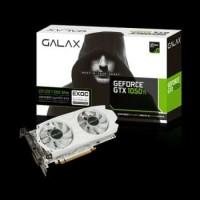GALAX Geforce GTX 1050 Ti EXOC White Edition 4GB DDR5 - Dual Fan