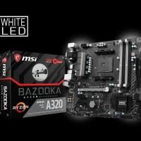 Terlaris - MSI A320M Bazooka AM4 AMD Promontory A320 DDR4 USB3.1 SATA3