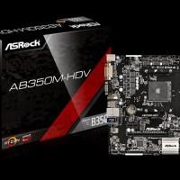 Unik ASRock AB350M HDV AM4 AMD Promontory B350 DDR4 USB3 0 SATA3