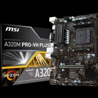 STOK TERBATAS MSI A320M Pro VH Plus AM4 AMD Promontory A320 DDR4 USB3