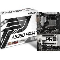 STOK TERAKHIR ASRock AB350 Pro 4 AM4 AMD Promontory B350 DDR4 USB3 0