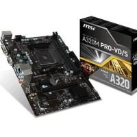 TERBARU MSI A320M Pro VD S AM4 AMD Promontory A320 DDR4 USB3 1 SATA3