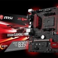 GROSIR MSI B350M Gaming Pro AM4 AMD Promontory B350 DDR4 USB3 1 SATA3