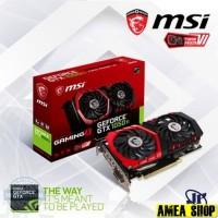 0 VGA MSI Geforce GTX 1050 Ti 4GB Gaming X - GTX 1050 Ti 4 GB DDR5