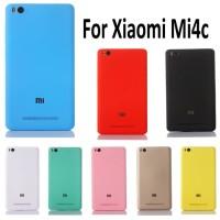 Case Backdoor Xiaomi Mi4C Mi4i Back Cover Plus Sim Tray Tutup Belakang