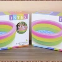 INTEX Kolam Renang Anak Mandi Bola Mainan Bak Air Pompa Angin
